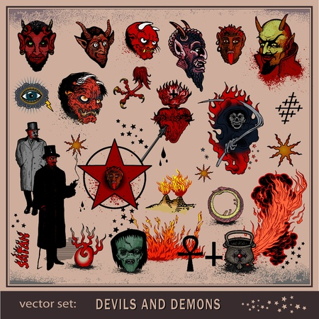 pentagram: devils and demons
