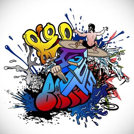 Graffiti Stock Vector - 12658595