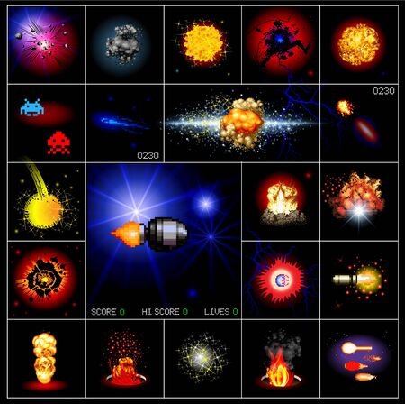 space wars: Explosions and Special Effects
