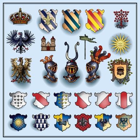 blazon: Heraldic elements