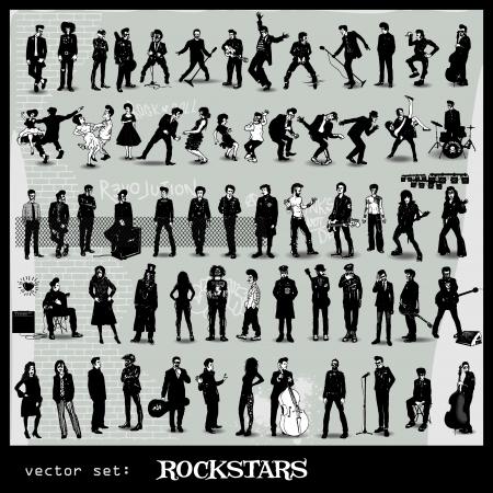 rockstars Vector