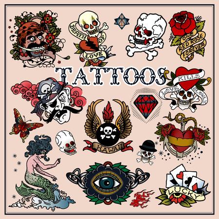 Tattoos Illustration