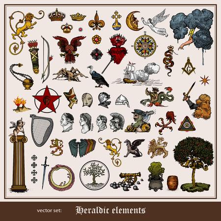 heraldic symbols: Heraldic elements