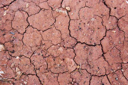 Crack soil ground Stock Photo
