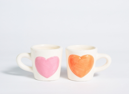Two cup of love Stock Photo - 17415735