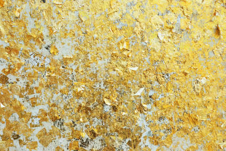 Gold wall Stock Photo - 17415773
