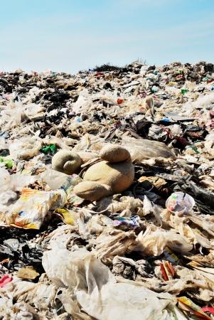 Global warming trash Stock Photo - 17415768