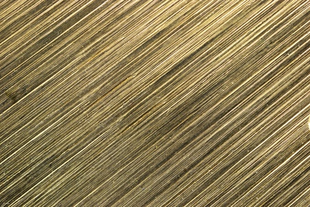 Brass texture after cutting process on autometic saw