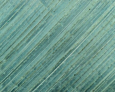 Metal texture after saw by sawing machine
