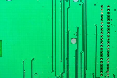 Close up of the old electronic circuit boards texture background photo