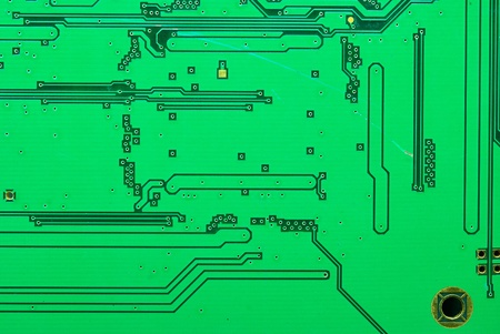 Part of the old electronic circuit boards background