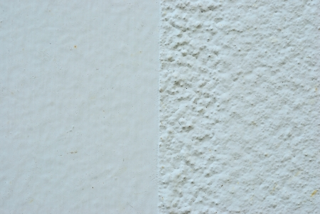 Smoot and rough white concrete wall texture background photo