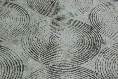 stipe: Rope stipe on concrete floor texture background