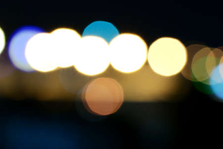 Abstract background of colourful bokeh light