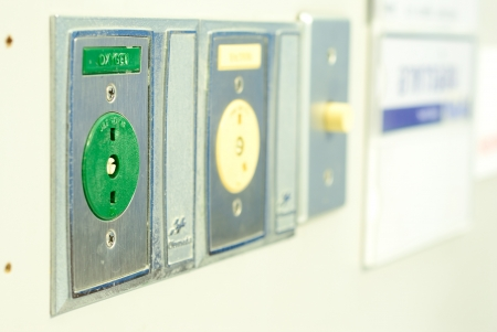 oxigen: The connecting plug for Oxigen in the hospital