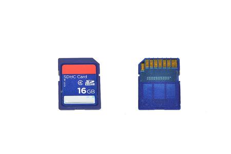 sd: sd card ,memory card blue Stock Photo