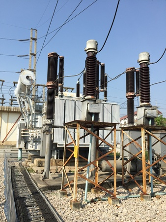 wire: Transformer substation