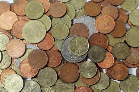 asian coins: Asian Coins Stock Photo