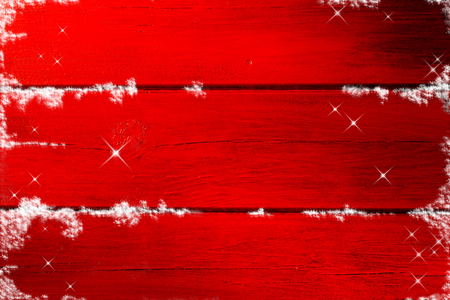 Red wooden christmas background