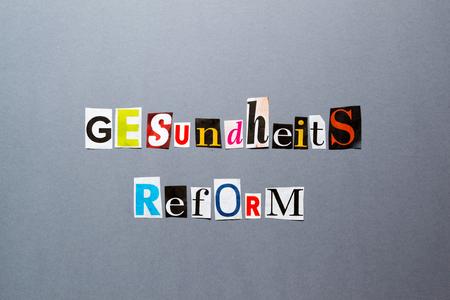 health reform: Health Reform