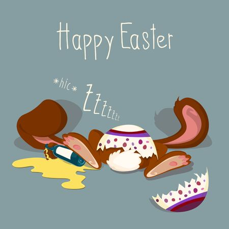 coma: Drunken Easter Bunny