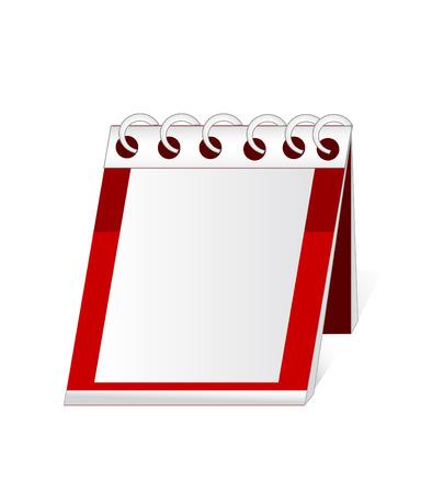 vector file. calendar and organizer