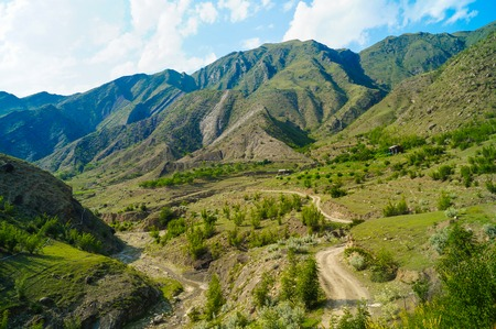 dagestan: the Caucasus Mountains Stock Photo