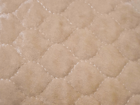 Brown background with embroidered pattern. for wallpaper, fabrics