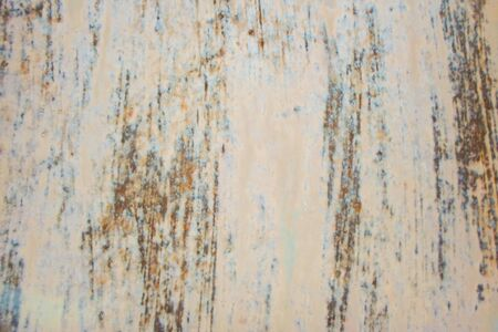 texture of a metal door. iron gate covered with rust. 写真素材
