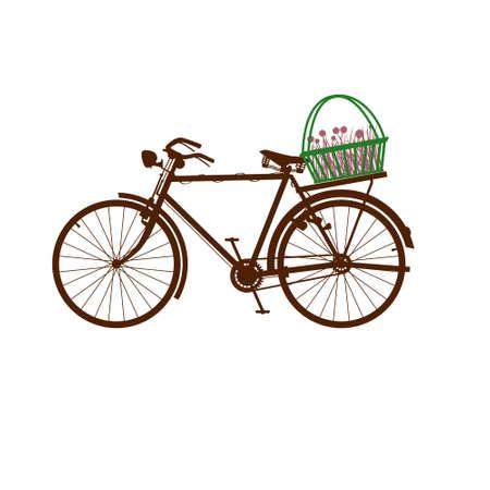 velocipede: bike isolated