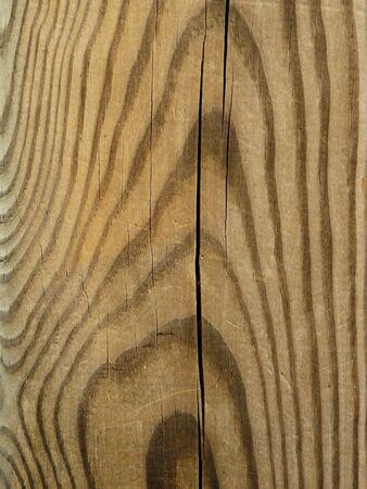 timber: Close up crack timber post. Stock Photo