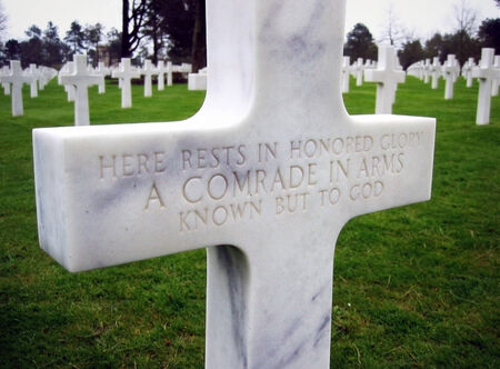 The American Cemetery in Normandy, France photo