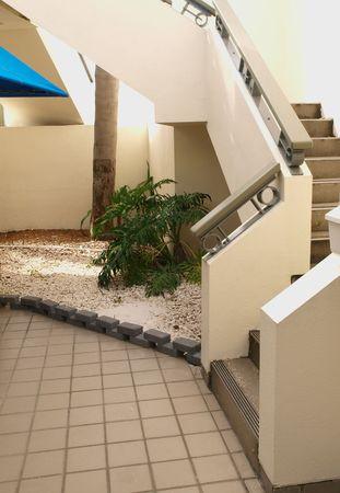 contemporary masonry  staircase       photo
