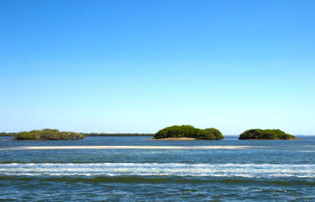 HDR photo image of a seascape of a group of islands Stock Photo - 9515222
