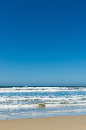 Weekend on the beach in San Diego. Stock Photo
