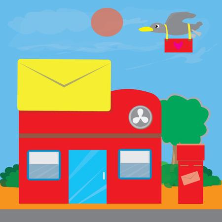 Post office vector