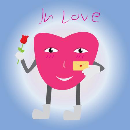 Heart Love vector Stock Illustratie