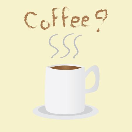 Need coffee Illustration