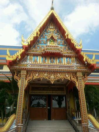 creative: Temple in thailand