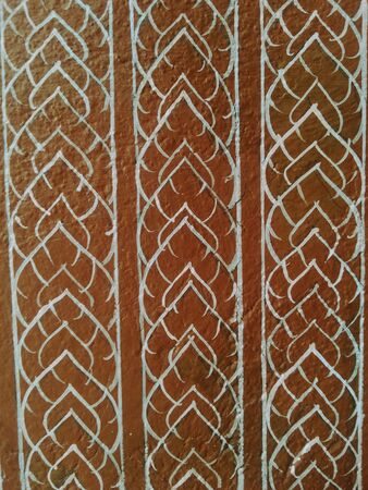 creative: Thai pattern background Stock Photo