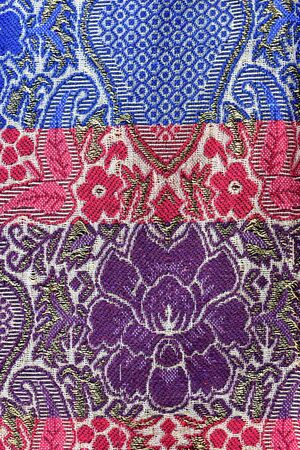 sarong: Sarong fabric for pattern background
