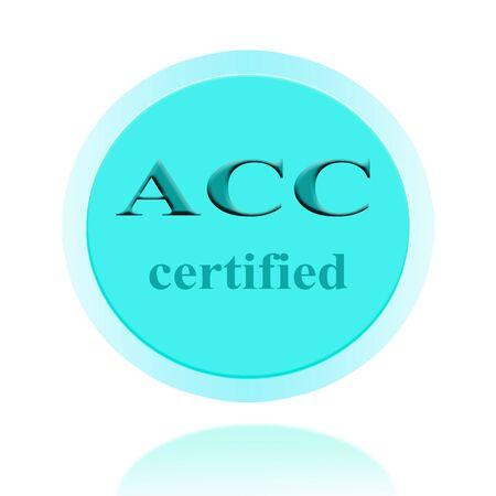 ISO-zertifizierte Symbol Oder Das Symbol Bild Konzept-Design Mit ...