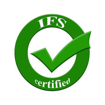 IFS certified icon or symbol image concept design with business women for business concept. business concept