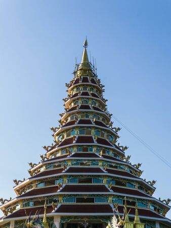 church of Wat Huai Pla Kha in chiang rai Thailand