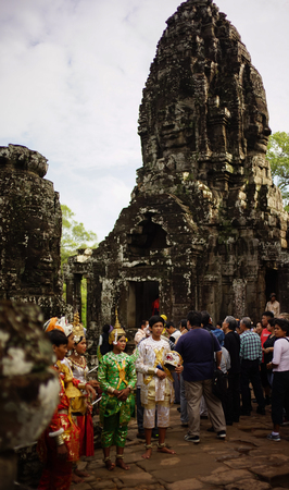 angor: cambodia musical drama in Angor Thom