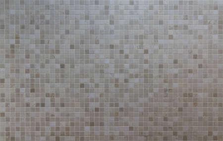 Creme Mosaikfliesen