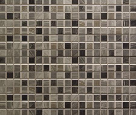 Graue Mosaikfliesen