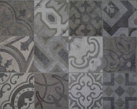 mosaic: mosaic tiles