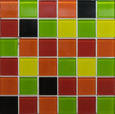 zufällige Farbe Mosaik-Fliesen
