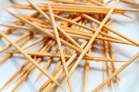 toothpick: mass of toothpick Stock Photo